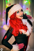 Harley Quinn (Christmas version) 12 by ThePuddins