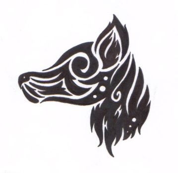 Wolf Tribal by CHEN-CHUNNY
