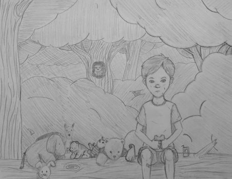 Passing time in the hundred acre woods by jornas