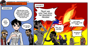 Gamergate triggerhappy - elections day by KukuruyoArt