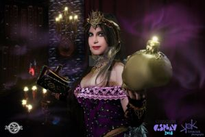 Necromantic Studies-Liliana of the Veil cosplay by 20Tourniquet02