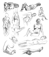 Life drawing dump 2015 by oxpecker