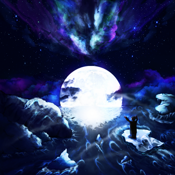 Loneliness Moonlight by Arcaste