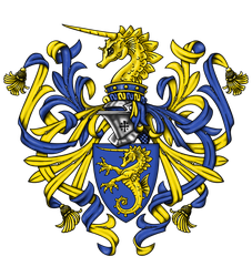 My NEW Coat of Arms by Aib-Alex