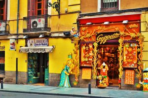 Bookshop and Toyshop in Madrid by Furuhashi335
