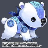 Coldbear by monstergalaxy