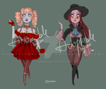 |OPEN~LOWERED~| POINTS ADOPT: Vampire Beauty by Onimimi