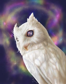 Mystic Owl by GreenGosselin