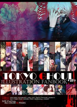 [CLOSED] TOKYO GHOUL +:re Illustraion Fanbook by kaokmchan