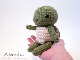 Amigurumi Woodland Critter Turtle 5 by MevvSan