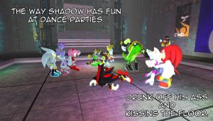 Shadow's Party Fun by Mephonix