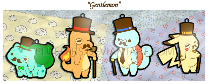 Gentlemon Charms by Pluffers