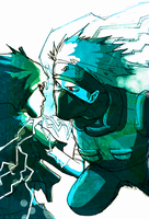 kiriban - Chidori to the Face by deadums