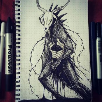 Inktober - Elias Ainsworth by CPT-Elizaye