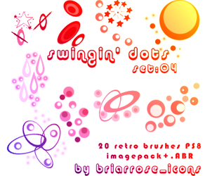 Swingin' dots by briarrosed