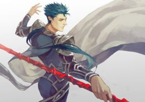 Fate Stay Night - Lancer by folie-0885