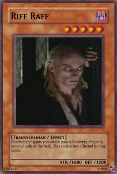 Riff Raff Card by And-uh-roo
