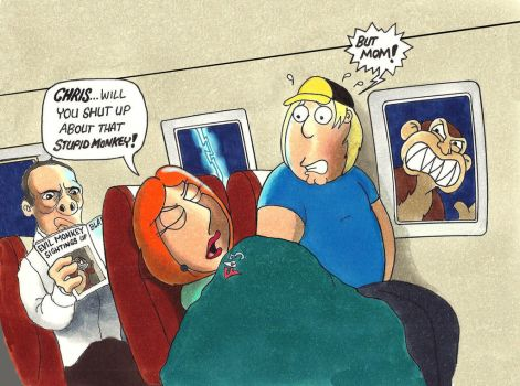 Nightmare at 35,000 Feet by Gulliver63