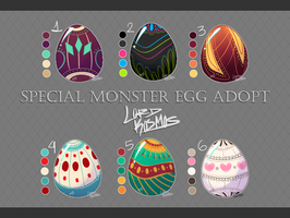 Special Monster Egg Adopt - CLOSED ! by Lord-Kosmos