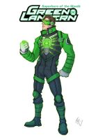 Green Lantern Redesign 1 by Grailee