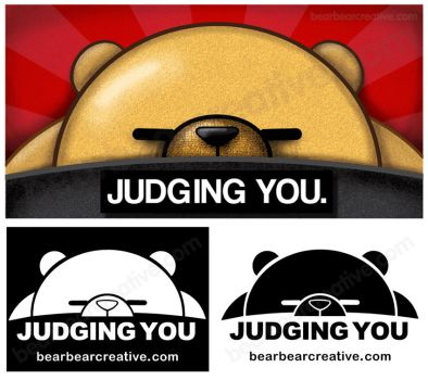 bear is JUDGING YOU by BearBearCreative