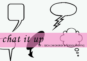 21st set - Chat it up - IP by girlinabox