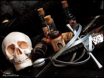 Rum and Bones by Na7s