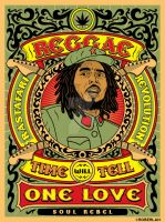 Reggae Rastafari Revolution by roberlan