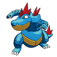 Feraligatr by DBurch01