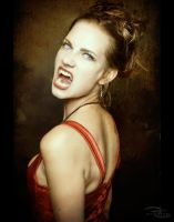 Angry Vampire by CindyHoliday