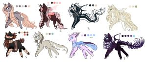 Ranged MLP Adoptions 15.0 :Auction: [Closed] by InspiredPixels