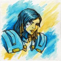 Pharah by tee-kyrin