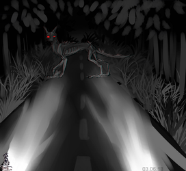 The night road of nightmares by AnimaTenebroso