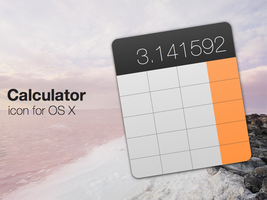 Calculator Icon (revised) by ChildrenAreWatching