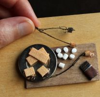 1:12 Scale S'mores by fairchildart