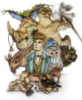 Fantastic Beasts by x-hamster-x