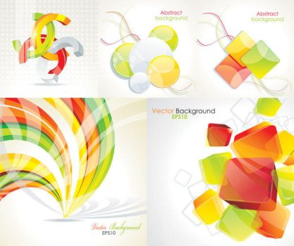 Crystal Abstract vector Background by vectorbackgrounds