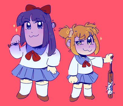 pop team epic by dongoverlord