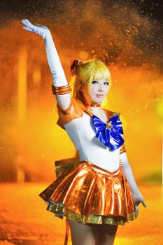 Eternal Sailor Venus - Guardian of Love by thebakasaru