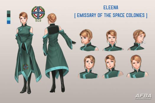 Eleena - Emissary of the Colonies by AFBA