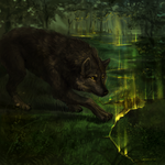 Guardian of the Forest by MIRTRUD