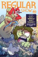 REGULAR SHOW Supercon Exclusive variant cover by MyNameIsMad