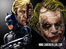 The Dark Knight by osx-mkx