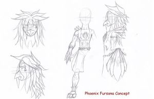 Fursona Concept: Phoenix by the-overfiend