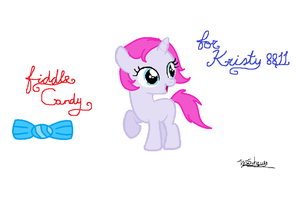 fiddle Candy present for Kristy8811 by Pegasister15