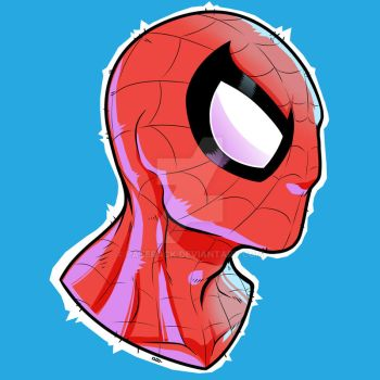 The Amazing Day-Glow Spider-Man by Paterack