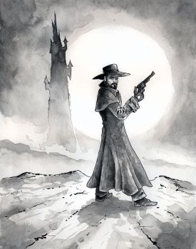 The Gunslinger by mbielaczyc