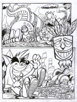 crash bandicoot comic 1-5 by rods3000