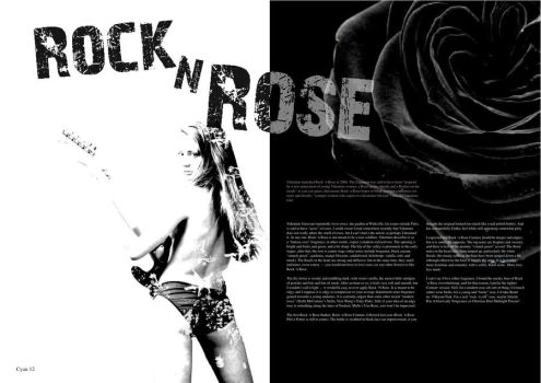 Rock and Rose by Half-PintDesigns