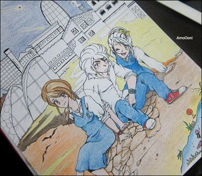 sisters and their brother a boss by Eman-AlKaabi
